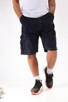 Vintage Wrangler Cargo Shorts Navy (W34)