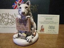 Harmony Kingdom Gubbio Town Wolf Terrorizing Town Uk Made Box Figurine Sgn