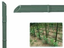 10x tutori in plastica canne piante orto pomodori rampicanti Ømm 27 h.180 cm