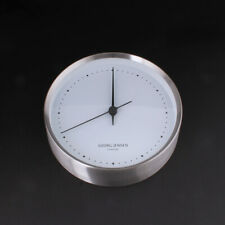 Georg Jensen Wall Clock White / Steel. Henning Koppel. NEW. 3587574. 22 cm