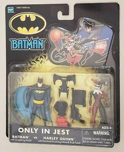 BATMAN ONLY IN JEST BATMAN vs HARLEY QUINN ACTION FIGURE TWO PACK