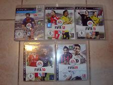 Fifa 09, 10, 11 und 12 - PS3 - Playstation 3 - 4 Spiele