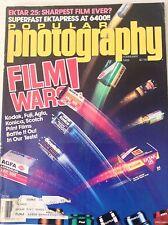 Popular Photography Magazine Film Wars Kodak Fuji February 1989 081317nonrh