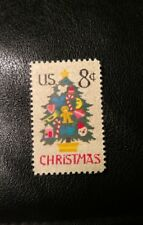 1973 US 8c Postage Stamp SC# 1508- Christmas Tree in Needlepoint- MNH
