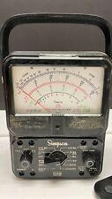 Simpson 260 Volt Ohm Millameter Ser 6 For Parts