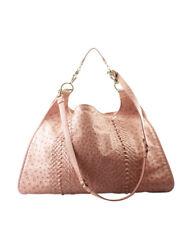 Bottega Veneta Pink Intrecciato Ostrich Hobo abd6b6137c3d8