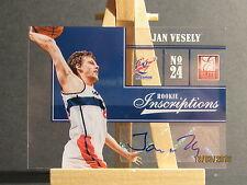 2012-13 Elite Rookie Inscriptions #47 Jan Vesely JMC