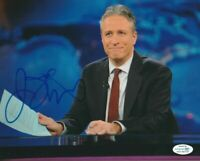 "COMEDIAN JON STEWART SIGNED ""THE DAILY SHOW"" 8x10 PHOTO! COLBERT REPORT ACOA COA"