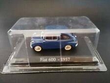 FIAT 600, 1957 - MODELLINO, DIE CAST 1/43