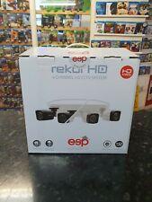 ESP Rekor 4 Channel HD CCTV Bullet Kit, 500GB & 4 Camera in Grey - REKHD4KB4G
