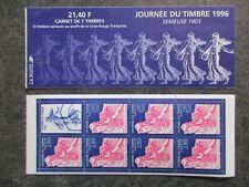 FRANCE carnet timbre JOURNEE DU TIMBRE 1996 SEMEUSE neuf ** TBE lot CH166