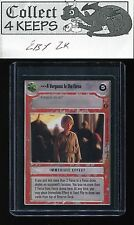SWCCG Coruscant You/'ve Got A Lot Of Guts Coming Here NM Star Wars CCG