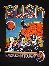 Vintage Concert T-SHIRT RUSH 78 NEVER WORN NEVER WASHED