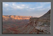Grand Canyon Sunrise LARGE Canvas Gallery Wrap Nature Landscape Photo Dawn Red