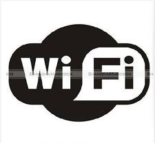 WIFI Fashion Computer Laptop Bar Cafe PVC Waterproof Sticker SM8-WALLS075