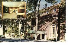 Schine Queensbury Hotel Motor Inn-Glens Falls-New York-Vintage Adv Postcard