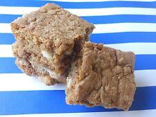 Gluten Free White Chocolate Chip Blondies - Homemade