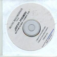 (CW171) John Moabi, Show U Love - 2007 DJ CD