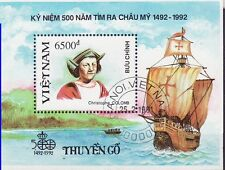 Vietnam 1991 - Schepen/Ships/Schiffe (Columbus)