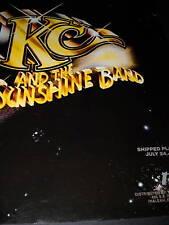KC AND THE SUNSHINE BAND Shipped Platinum 1978 PROMO AD