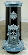 NEW 5 kw Godin 3720 Antique Style Cast Iron Wood Coal Multifuel Stove Blue