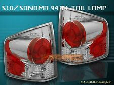 94-04 S10 S-10 SONOMA TAIL LIGHTS 2000 2001 2002 2003