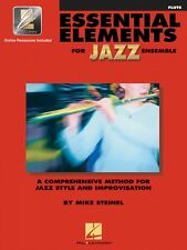 Essential Elements for Jazz Ensemble Flute A Comprehensive Method 000841620