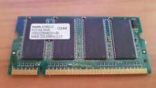 HYNIX PC2100S-25330 256 MB DDR 266 MHz-HYMD 232M646C6-H-AA DDR1 portátil ram