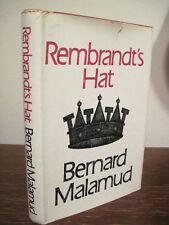1st/2nd Printing Rembrandt'S Hat Bernard Malamud Rare Classic Pulitzer