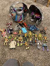 Technodrome TMNT Teenage Mutant Ninja Turtles Out Of The Shadows Playset Figures