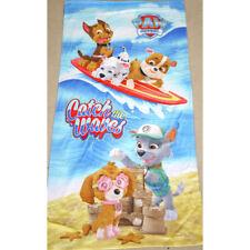 100% Cotton Kids Children Boys Paw Patrol Bath Beach Pool Towel 70x140cm