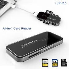 USB 2.0 All in 1 Multi Lettore di Schede Memoria Memory Card Reader SDHC TF SD