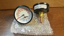 1711) lot of 1 Boiler Gauge Temperature and pressure brand new