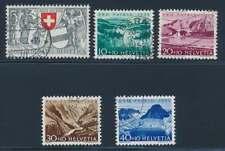 Schweiz Nr. 570-574 gestempelt, Pro Patria 1952 (39118)