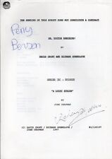 Oh Doctor Beeching-Original Script-Signed By Perry Benson & Richard Spendlove-10