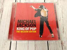 MICHAEL JACKSON KING OF POP BELGIAN EDITION 2 CD BOX SET GREATEST HITS
