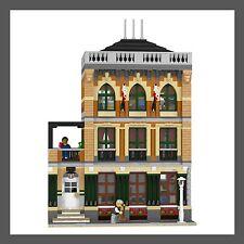 LEGO Custom Modular Brooklyn School - INSTRUCTIONS ONLY!!!