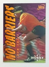 1996 Futera Rugby Union Hobby No Barriers insert card #NB7 John Eales