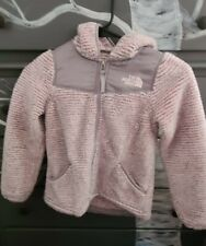 Girls North Face Stiped Oso Hoodie XS/6