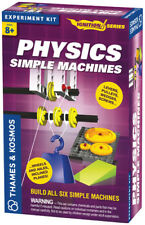 Physics: Simple Machines Experiment Kit KOSMOS BRAND NEW ABUGames
