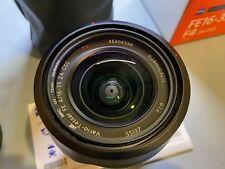 New listing sony vario-tessar t fe 16-35mm f/4 za oss lens