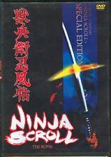 Ninja Scroll the Movie Japanese Animation HONG KONG ACTION MOVIE