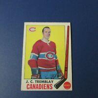 JEAN-CLAUDE J.C. TREMBLAY  1969-70  O-Pee-Chee  # 5  OPC Montreal Canadiens 1969