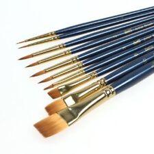 Bianyo Artist Brush, Detail Paint Brushes 10-piece Miniature Brushes Watercolor