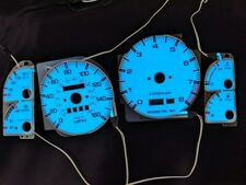 fits Mazda RX-7 RX7 86-88 87 Turbo Indiglow El Night Glow Gauges