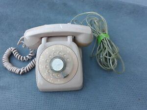 pink rotary phone. Vintage Dial up Pink Phone