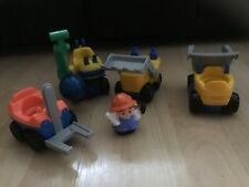 Fisher price Little People Construction Building site Vehicles