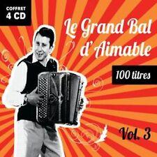 CD Le Grand Bal d'Aimable - 4 CD - 100 Tracks - Volume 3 / IMPORT