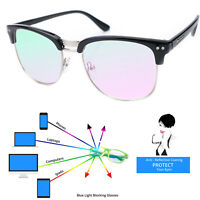 Women Men Reading Glasses Anti Glare +0.5 +1.5 +2.0 TV Computer Gaming Reflex