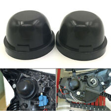 2x Rubber Headlight Housing Extended Dust Cover Boot Cap for F150 2015 2016 2017